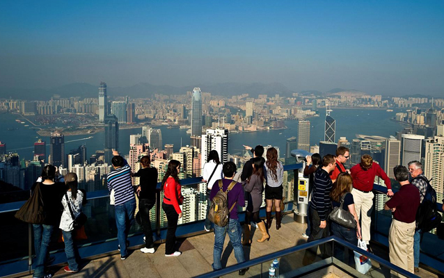 Panoramic View from Victoria Peak during Daytime