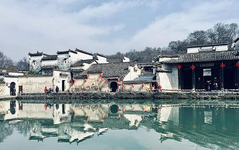 Hongcun Village in Winter