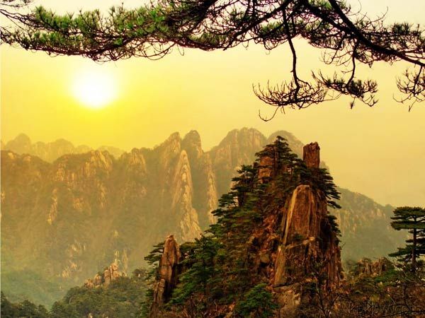 Yellow Mountain in Huangshuan City