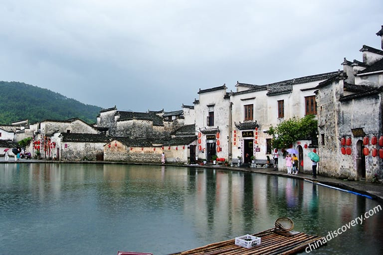 Hongcun - the masterpiece of ancient Hui architecture