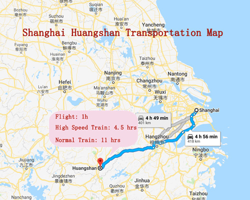 Map 401.Huangshan Mountain Maps 2019 Updated And Downloadable