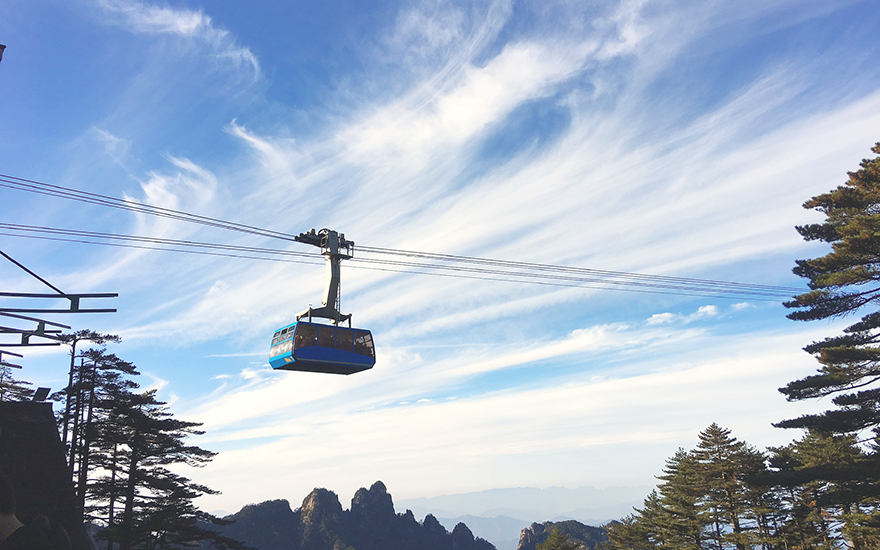 Huangshan Taiping Cable Car
