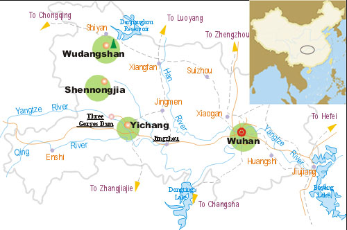 Hubei maps hubei china map hubei tourists map hubei tourists map gumiabroncs Choice Image