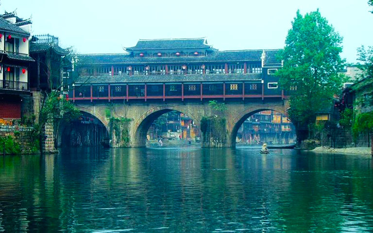 Fenghuang Ancient Town - Rainbow Bridge