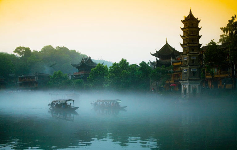 Fenghuang Ancient Town - Tuojiang River