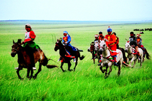 Horse Racing in Naadam Festival