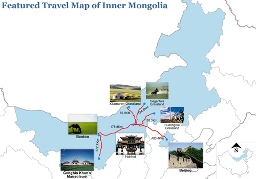 Inner Mongolia Map Inner Mongolia China Map Inner Mongolia - Manzhouli map