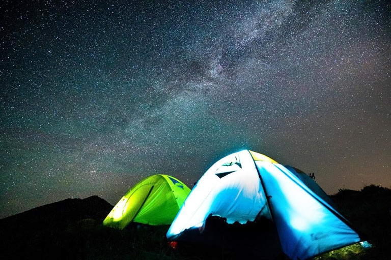 Overnight Camping at Kubuqi Desert