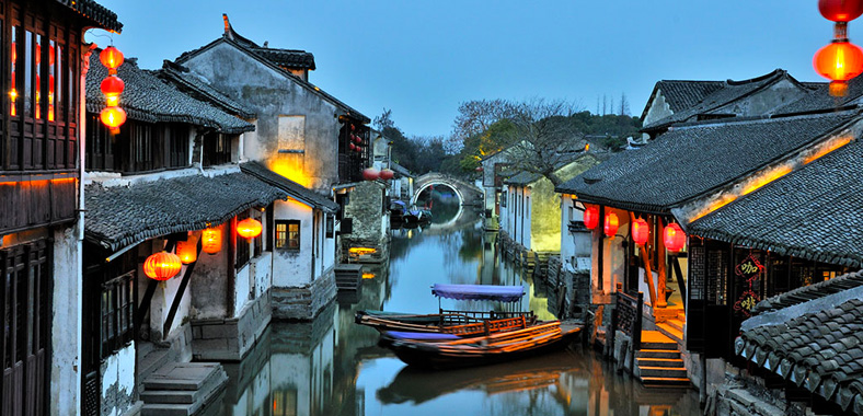 Zhouzhuang (Jiangsu, China) : China's No. 1 Water Town