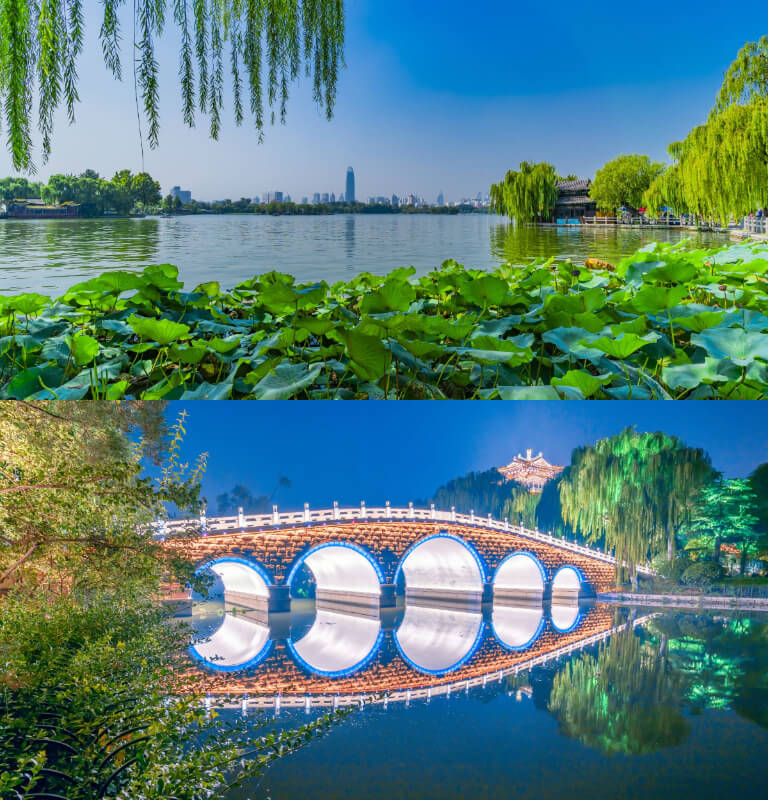 Summer in Jinan
