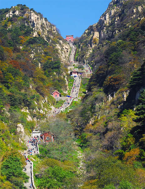 China Shandong Mountai Tai Tour