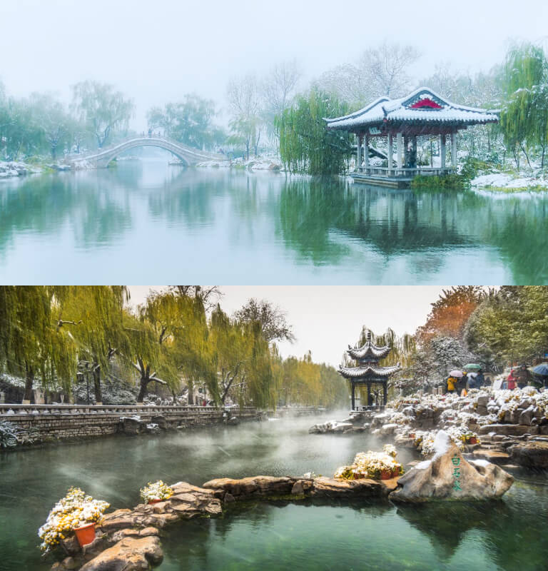 Winter in Jinan