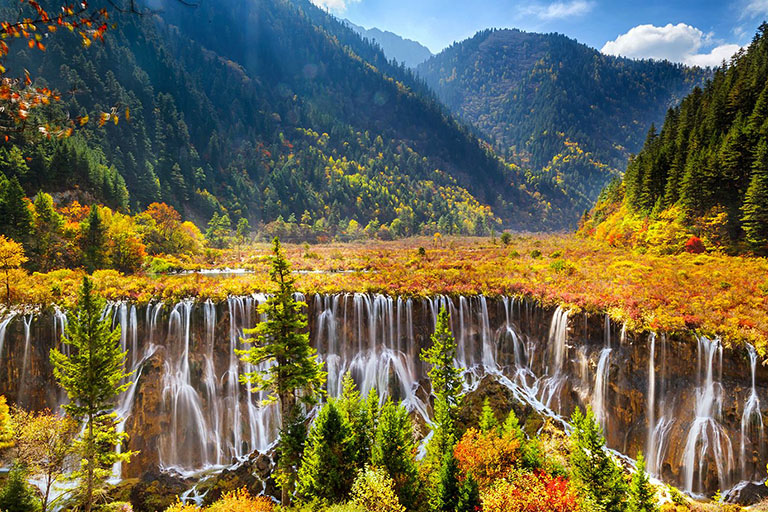 Jiuzhaigou Autumn