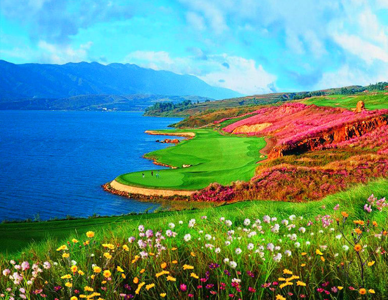 Lake Course of Kunming Spring City Golf & Lake Resort