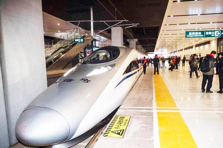 Kunming Bullet Train