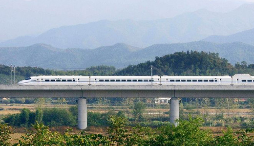 Chengdu to Leshan High Speed Train