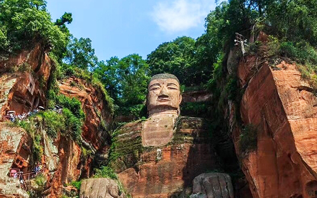 The Giant Buddha has blessed the local people for thousand years.