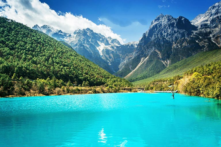 Blue Moon Valley at Jade Dragon Snow Mountain