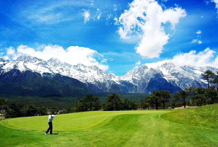 Lijiang Jade Dragon Snow Mountain Golf Club