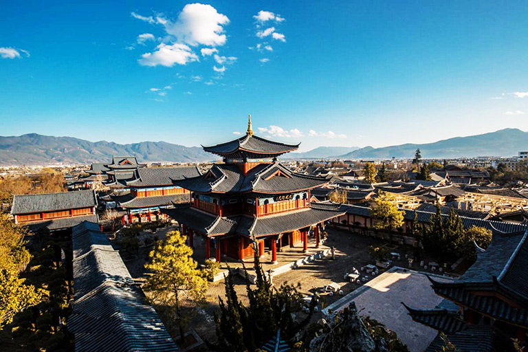 "Mufu Palace, the ""Forbidden City"" of Lijiang"