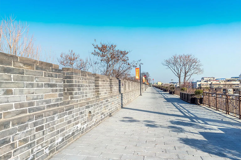 Ancient City Wall in Kaifeng City