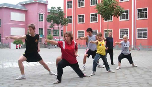Xiao Long Martial Arts School of Students