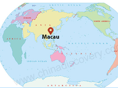 Macau Maps: Location, Tourist Attractions and Transport Maps ...