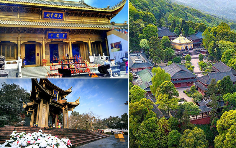 Temples in Mount Emei