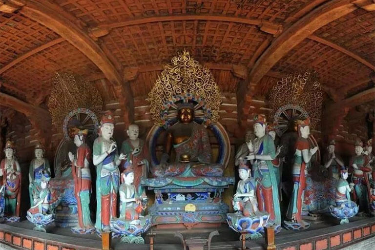 Buddha Statues of Tang Dynasty in Foguang Temple