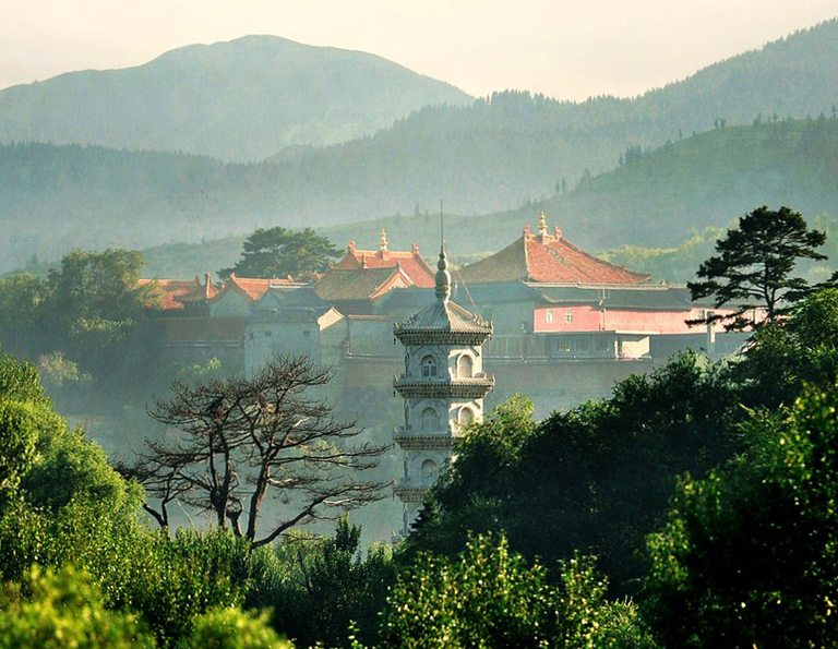 Peaceful Scenery of Mount Wutai