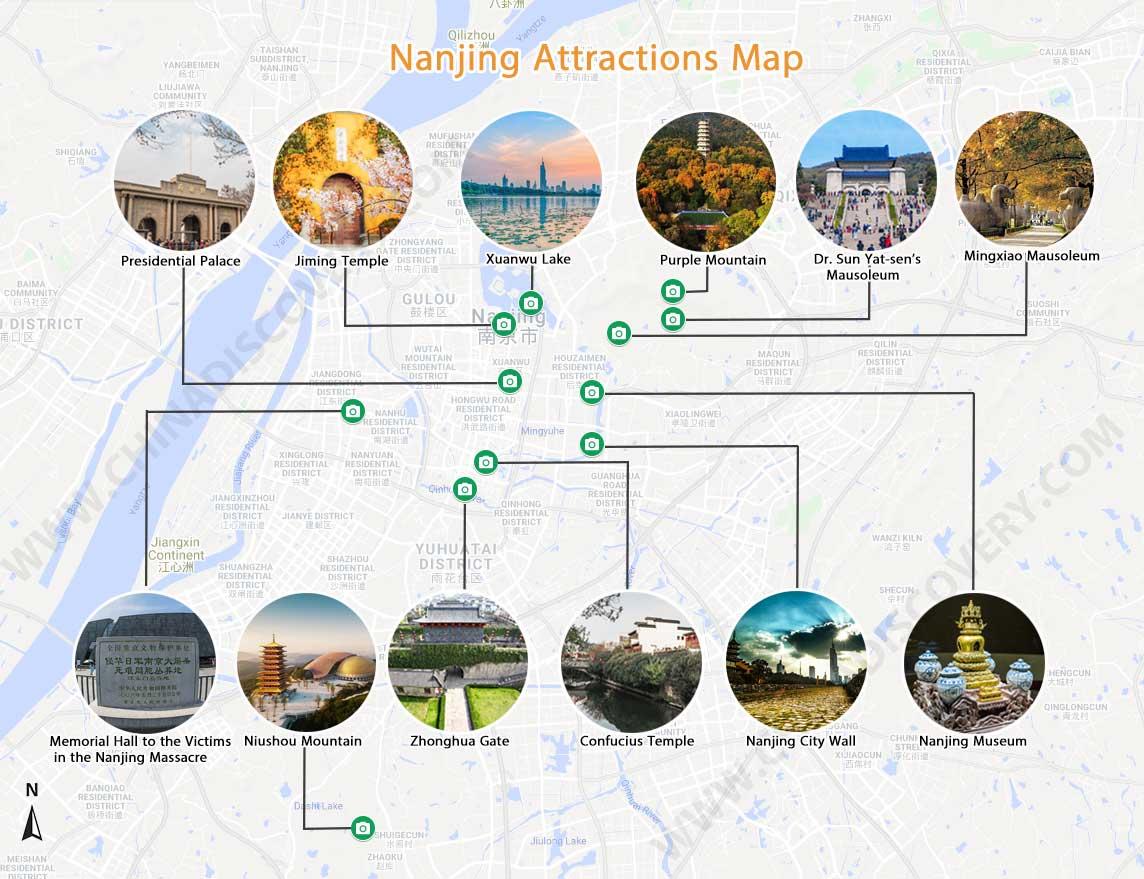 Nanjing Maps Nanjing China Map Nanjing Shanghai Map