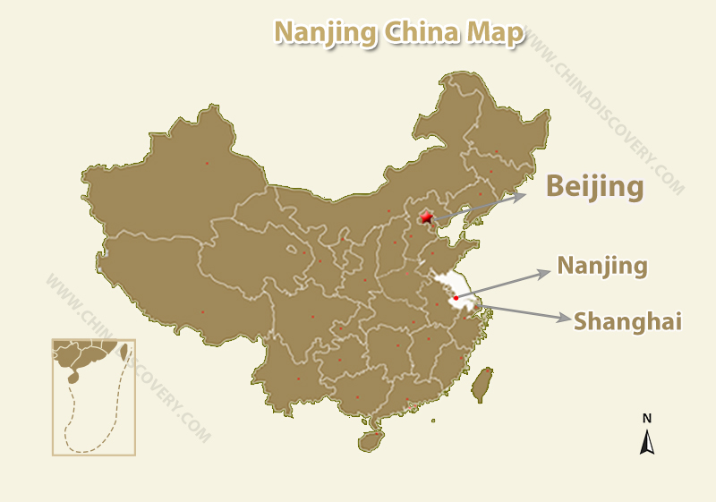 Nanjing Maps, Nanjing China Map, Nanjing Shanghai Map