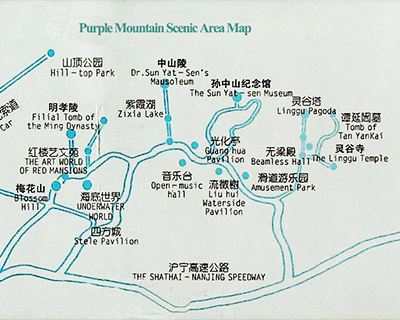 Nanjing Attraction Map