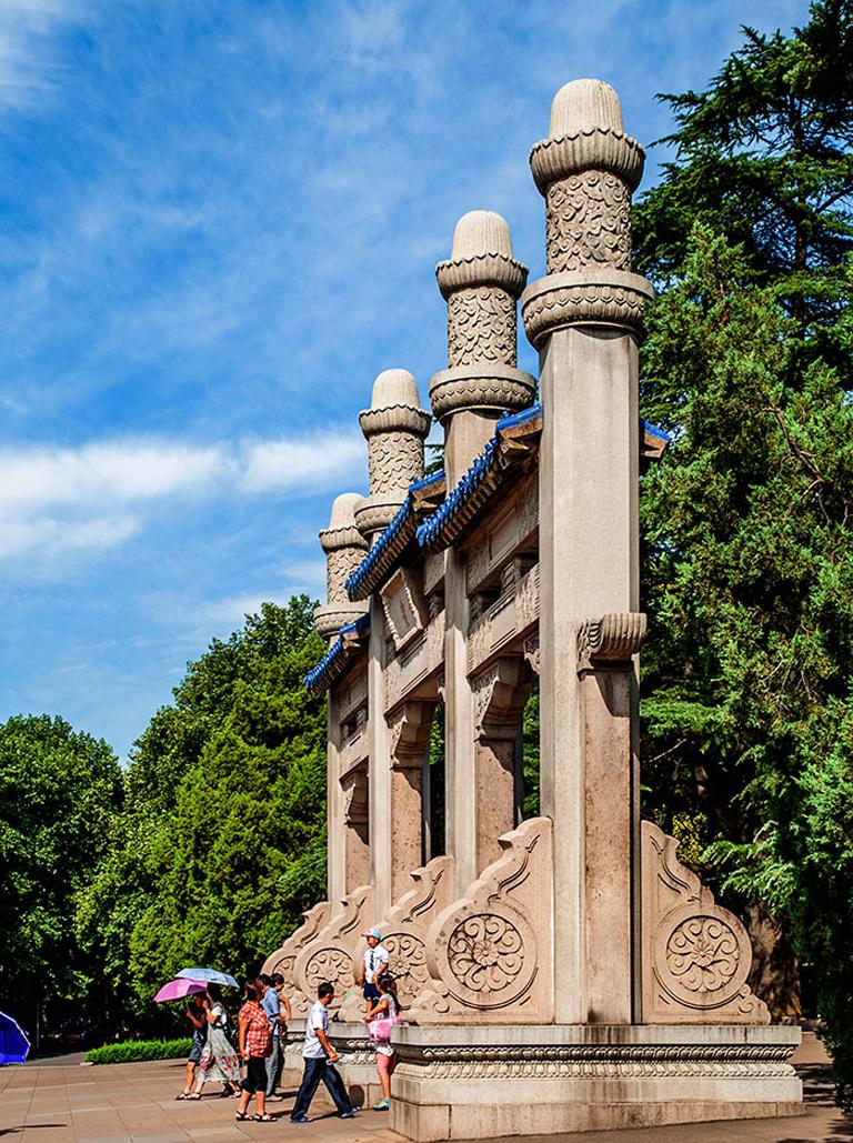Sun Yat Sen Mausoleum Nanjing Sun Yat Sen Memorial Park