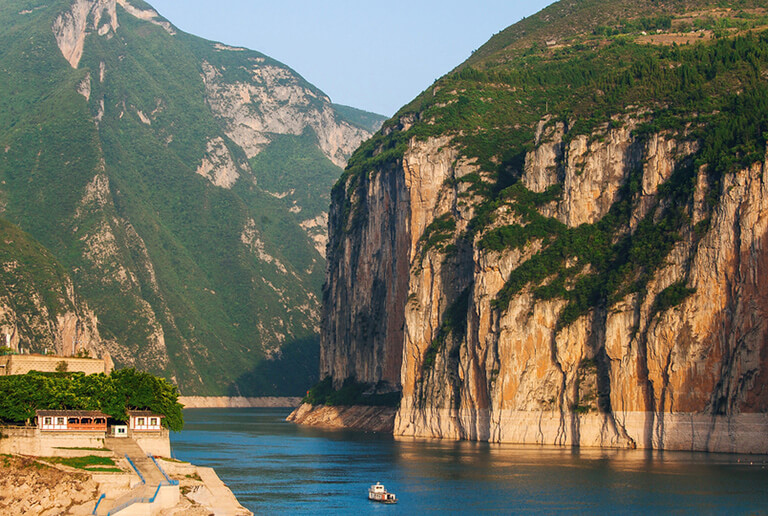 Three Gorges of Yangtze River