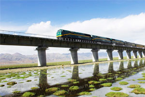 The Highest Altitude Railway-Qinghai Tibet Railway