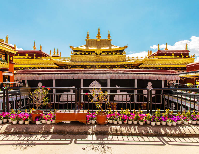 Golden Roof of Jokhang Temple