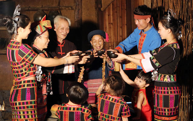 A Family of Li Ethnic Group