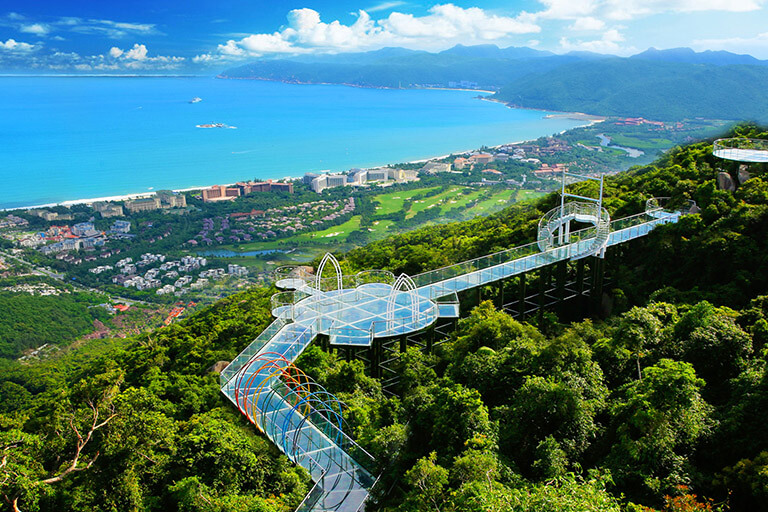 Stunning Yalong Bay in Sanya