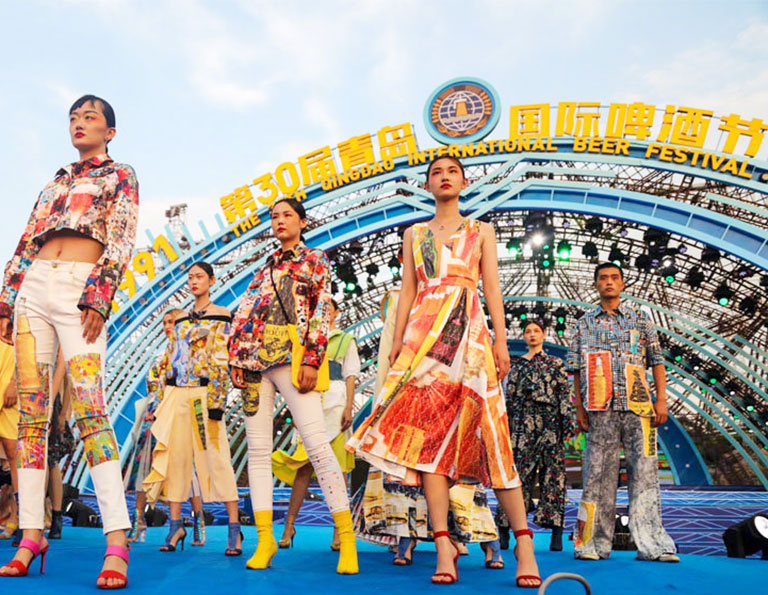 Fashion Show in Qingdao Beer Festival