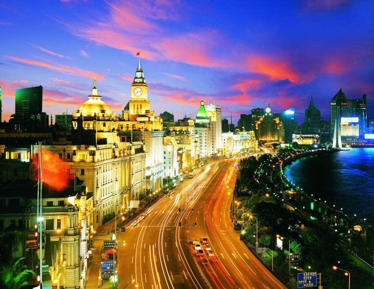 The Bund Night Views in Shanghai
