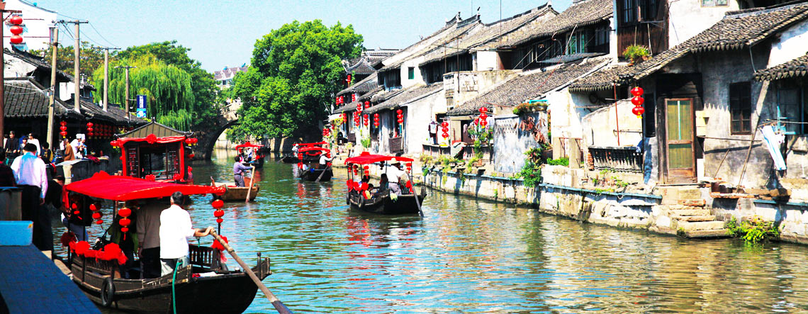Shanghai Fengjing Ancient Town Tour