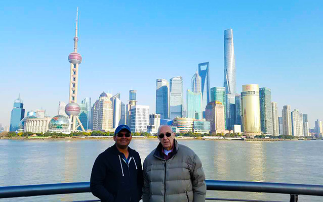 The Bund - most iconic place of Shanghai