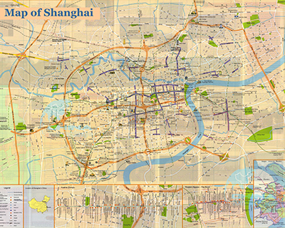 Downloadable and Detailed Maps of Shanghai Shanghai Subway Map