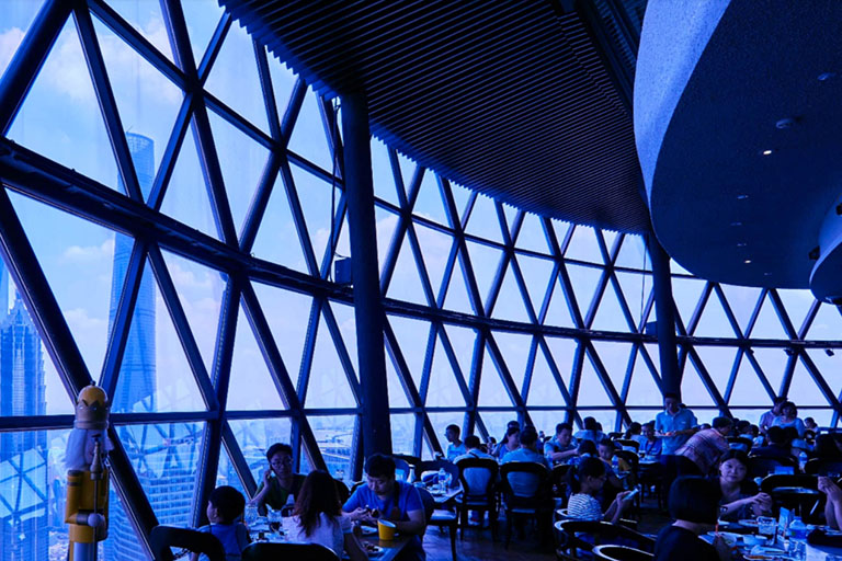 Oriental Pearl Tower Reviving Restaurant