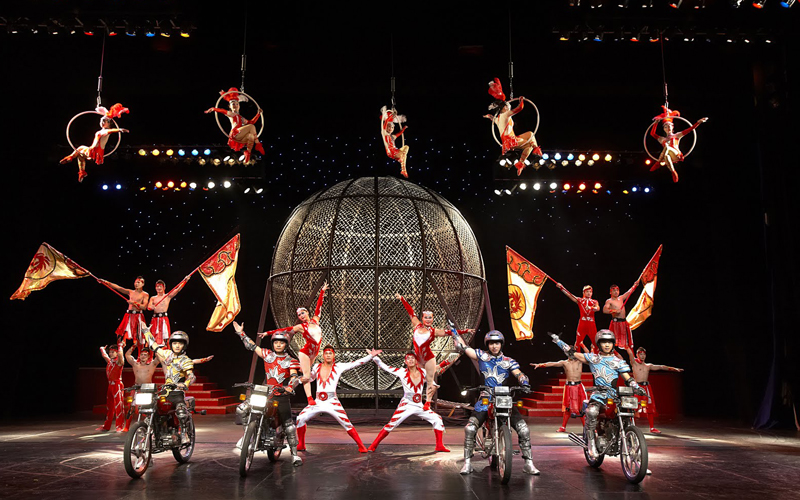 New Discovery 2018 >> Shanghai Circus World - Acrobatic Shows / Era Intersection ...