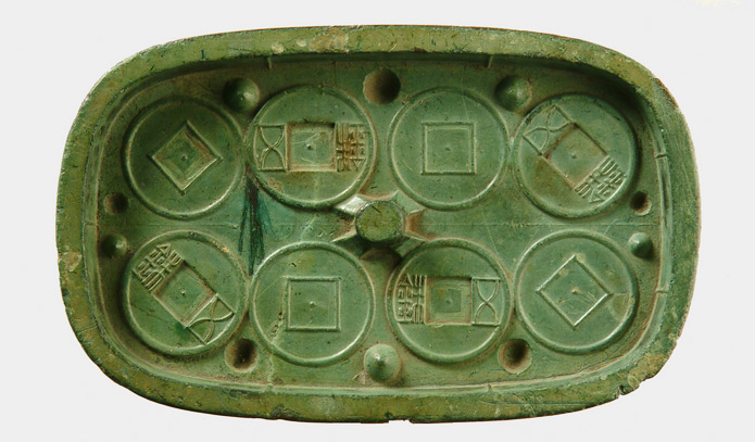 Ancient Currency Mold Case