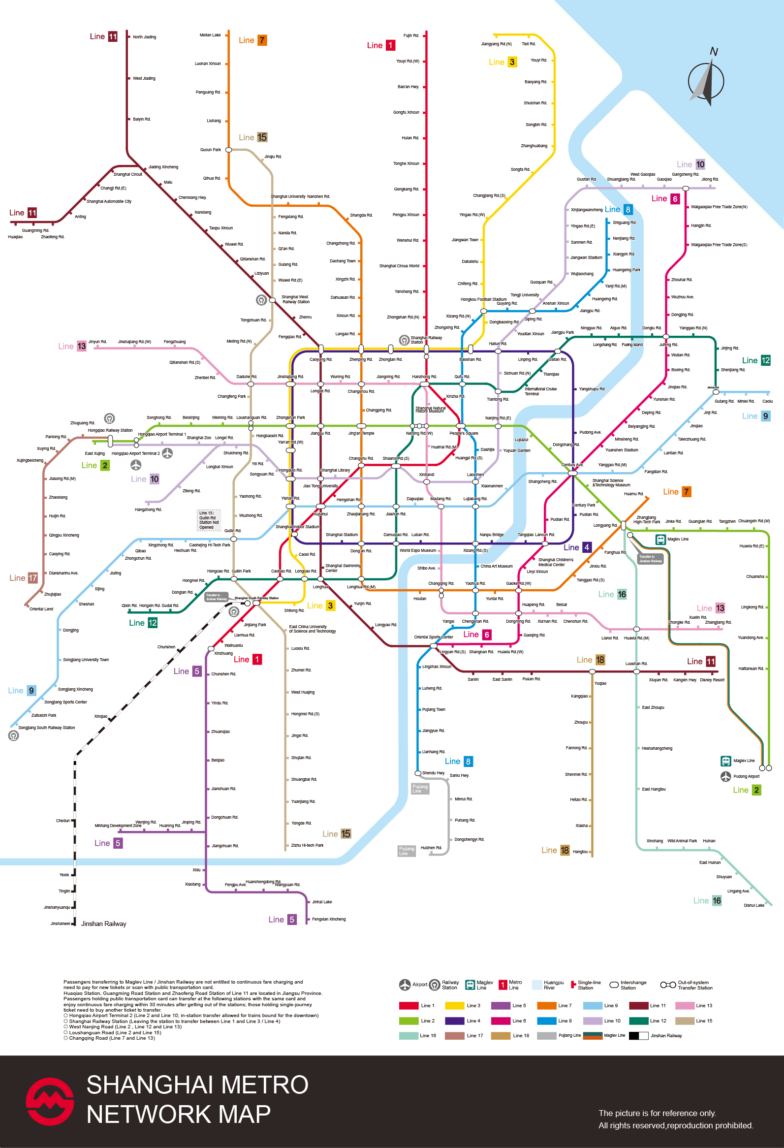 Shanghai Metro Shanghai Subway Map Lines Stations Tickets