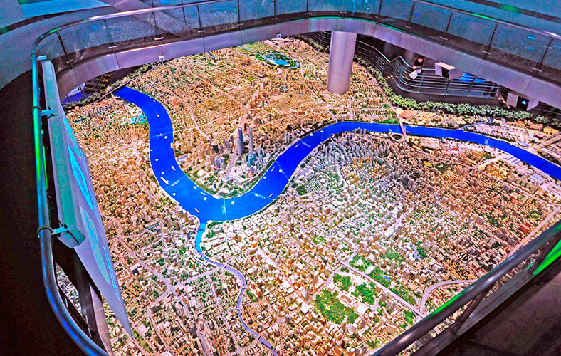 Shanghai Urban Planning Exhibition Center - Pudong New Area