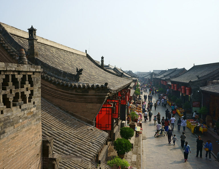 Old Streets of Pingyao Ancient City